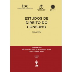 Estudos de Direito do Consumo - Volume V