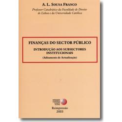 Finanças do Sector Público
