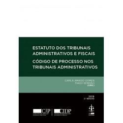 Estatuto dos Tribunais Administrativos e Fiscais - Código do Processo nos Tribunais...