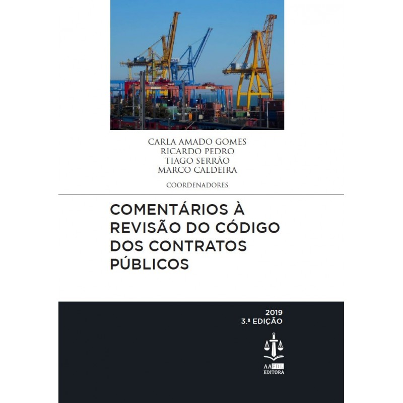 Comentários à Revisão do Código dos Contratos Públicos 3.ª Edição (edição descontinuada)