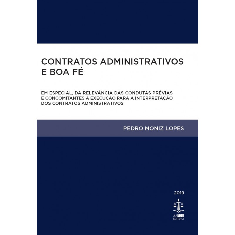 Contratos Administrativos e Boa Fé