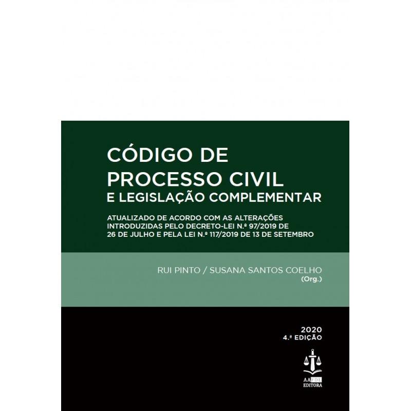 Código de Processo Civil e Legislação Complementar 4.ª Edição