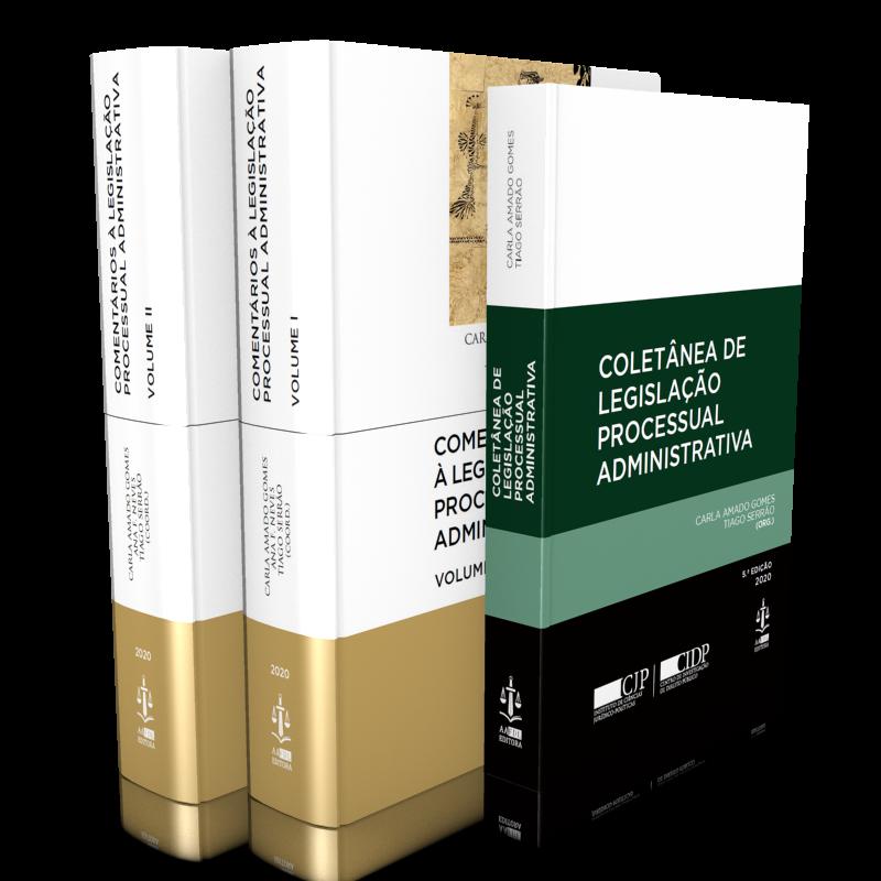 Pack Comentários a Legislação Processual Administrativa 2 Volumes (com a legislação)