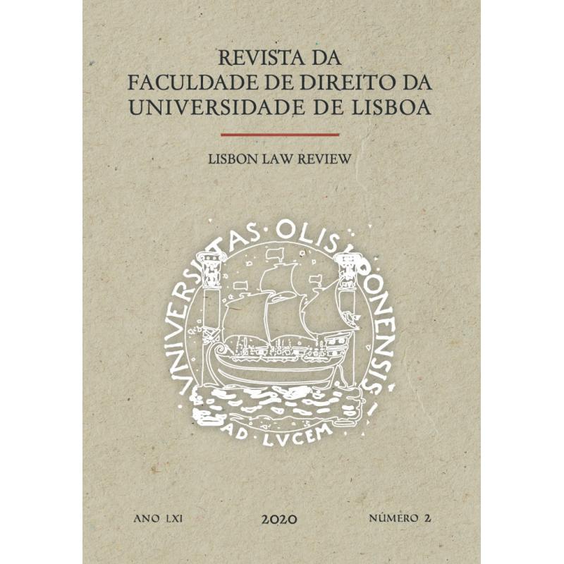 Revista da Faculdade de Direito da Universidade de Lisboa | Lisbon Law Review - Ano LXI, Volume II