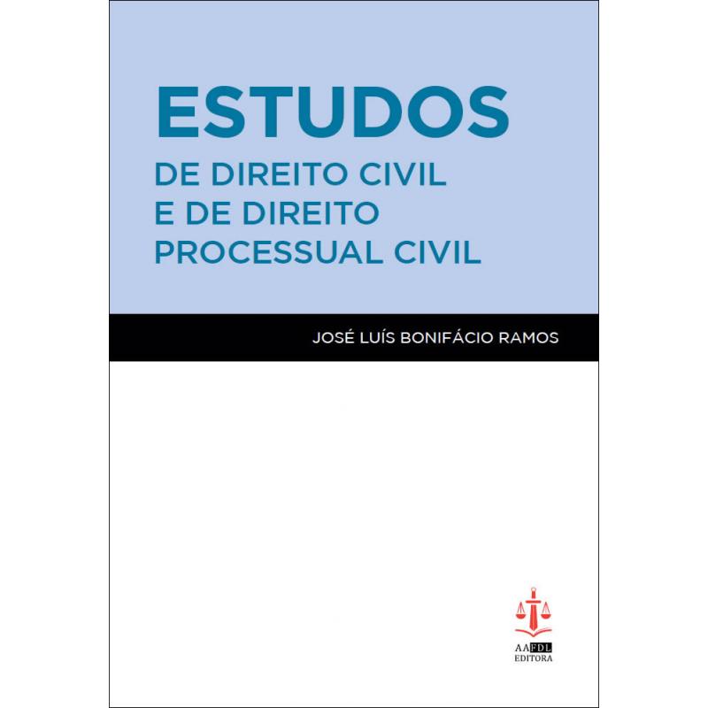 Estudos de Direito Civil e de Direito Processual Civil