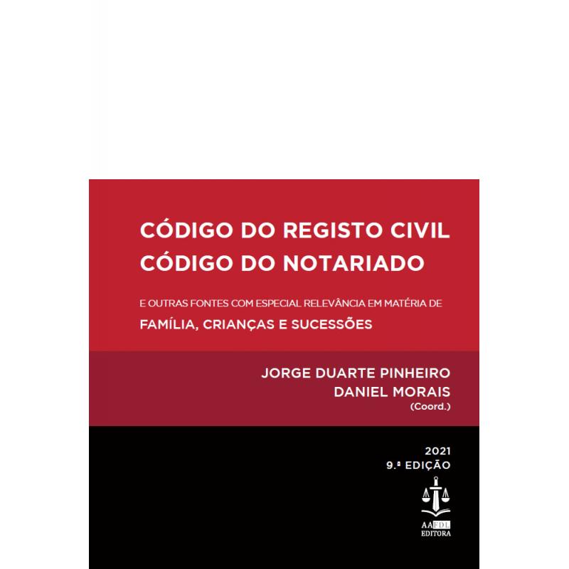Código do Registo Civil | Código do Notariado 9.ª Edição