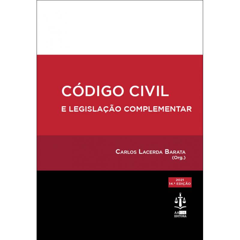 Código Civil e Legislação Complementar 14.ª Edição