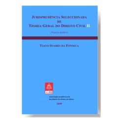 Jurisprudência Selecionada de Teoria Geral do Direito Civil II