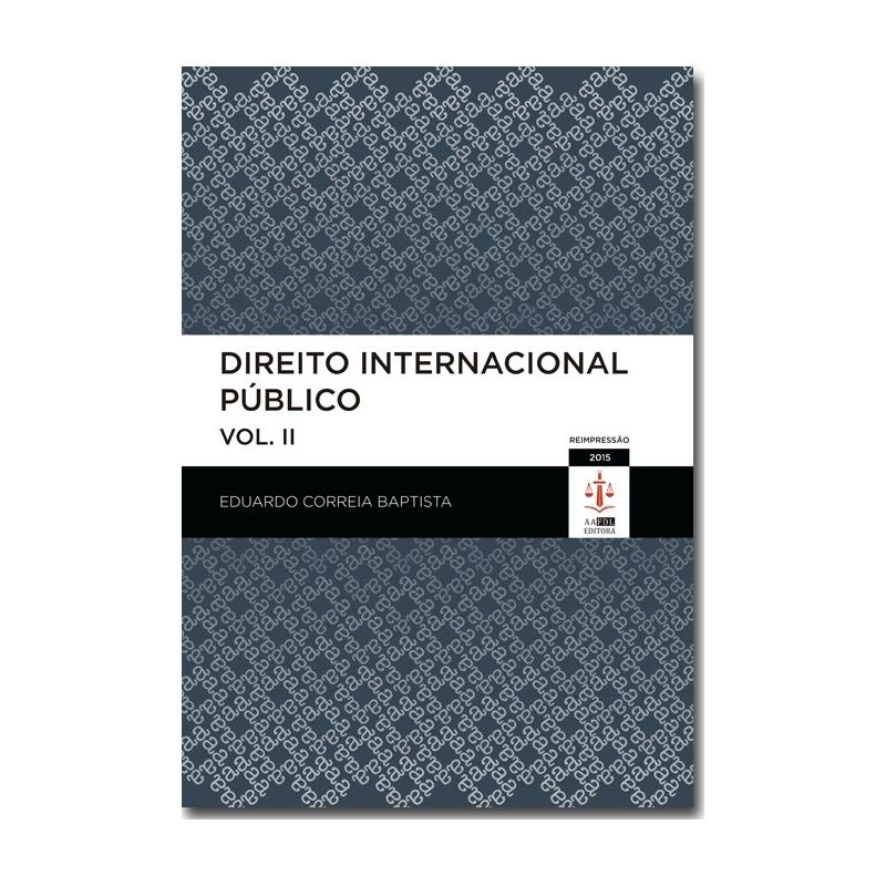 Direito Internacional Público - Volume II
