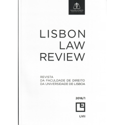 Revista da Faculdade de Direito da Universidade de Lisboa Lisbon - Law Review - Ano LVII, Volume I