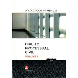 Direito Processual Civil - Volume I