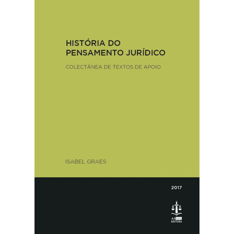 História do Pensamento Jurídico - Coelctânea de Textos de Apoio