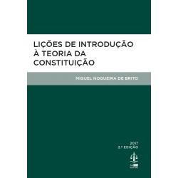 Lições de Introdução à Teoria da Constituição
