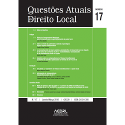 Questões Atuais de Direito Local N.º 17