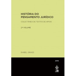 História do Pensamento Jurídico Volume II - Colectânea de...