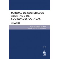 Manual de Sociedades Abertas e de Sociedades Cotadas Volume I