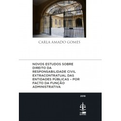 Novos Estudos sobre Direito da Responsabilidade Civil Extracontratual das Entidades...