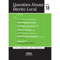 Questões Atuais de Direito Local N.º 18