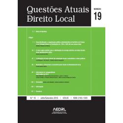 Questões Atuais de Direito Local N.º 19