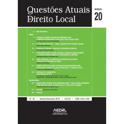 Questões Atuais de Direito Local N.º 20