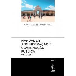 Manual de Administração e Governação Pública Volume I
