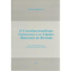 Constitucionalismo Guiniense e os Limites Materiais de...