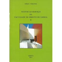 Textos ao Serviço da Faculdade de Direito de Lisboa II
