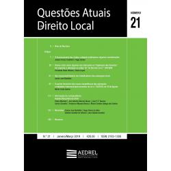 Questões Atuais de Direito Local N.º 21