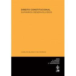 Direito Constitucional - Sumários Desenvolvidos