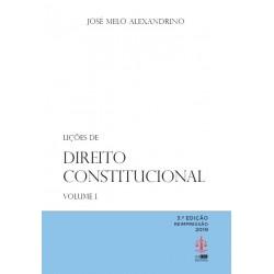 Lições de Direito Constitucional - Volume I