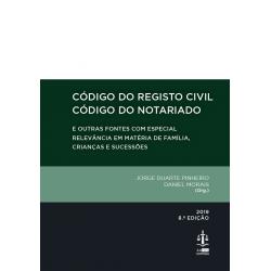 Código do Registo Civil e Código do Notariado 8.ª Edição