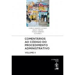 Comentários ao Código do Procedimento Administrativo - Volume II 5.ª Edição