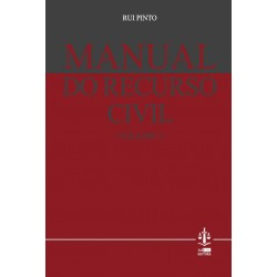 Manual do Recurso Civil Volume I