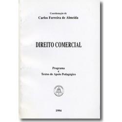 Direito Comercial - Programa e Textos de Apoio Pedagógico