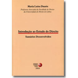 Introdução ao Estudo do Direito - Sumários Desenvolvidos