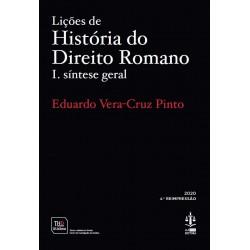 Lições de História do Direito Romano I - Síntese Geral