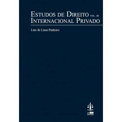 Estudos de Direito Internacional Privado Volume III