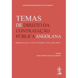 Temas de Direito da Contratação Pública Angolana